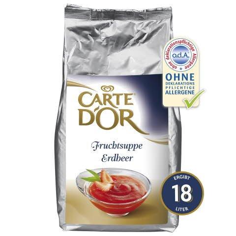 Carte D'or Fruchtsuppe Erdbeer 3 KG