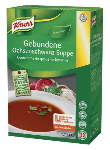 Knorr Gebundene Ochsenschwanz Suppe 2,7 KG