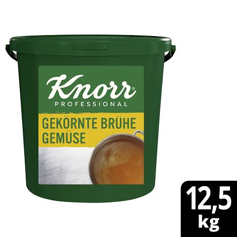 Knorr Professional  Gekörnte Brühe Gemüse ohne Suppengrün 12.5kg -