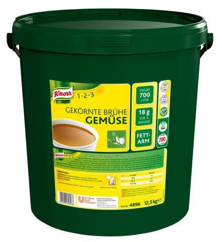 Knorr Gekörnte Brühe Gemüse 12,5 KG -
