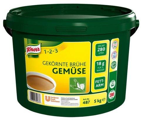 Knorr Gekörnte Brühe Gemüse 5 KG -