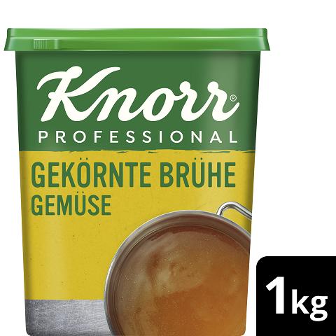 Knorr Professional Gekörnte Brühe Gemüse ohne Suppengrün 1 KG -