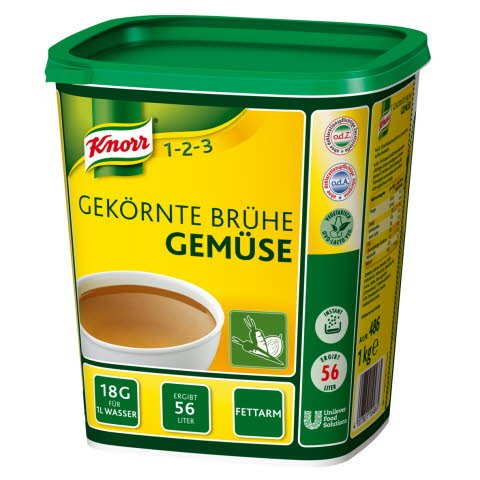 Knorr Gekörnte Brühe Gemüse 1 KG -