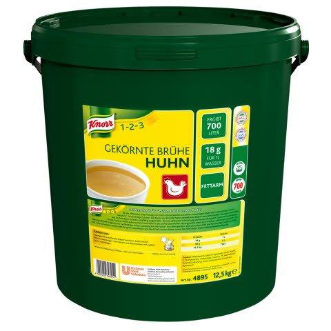 Knorr Gekörnte Brühe Huhn 12,5 KG
