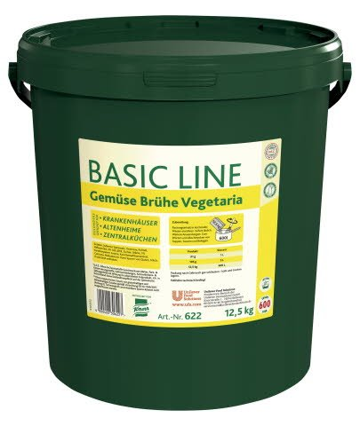 Basic Line Gemüse Brühe Vegetaria 12,5 KG -
