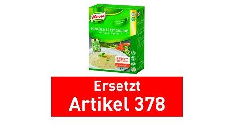 Knorr Gemüse Cremesuppe 1,8 KG -