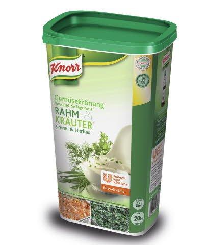 Knorr Gemüsekrönung Rahm & Kräuter 1 KG -