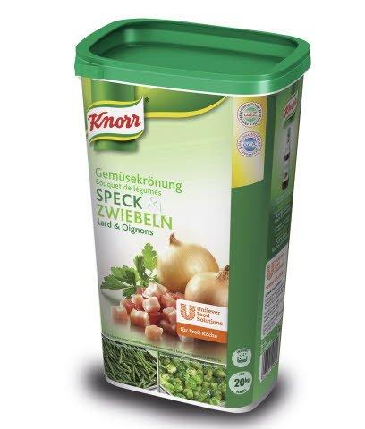 Knorr Gemüsekrönung Speck & Zwiebeln 1 KG