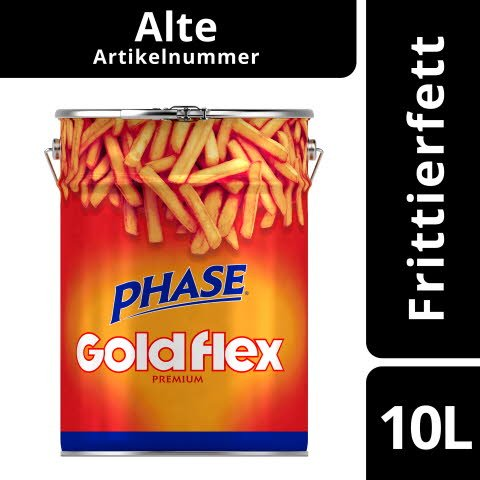 Phase Goldflex Frittierfett 10 L -