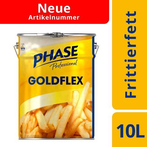 Phase Professional Frittieröl Goldflex 10l - PHASE Professional Goldflex ist geruchsneutral und besonders lange haltbar.