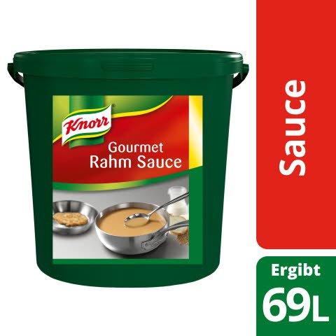 KNORR Gourmet Rahmsauce 1X10KG BUC