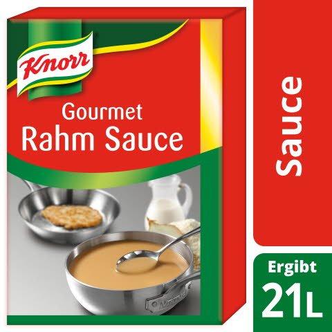 Knorr Gourmet Rahm Sauce 3 KG