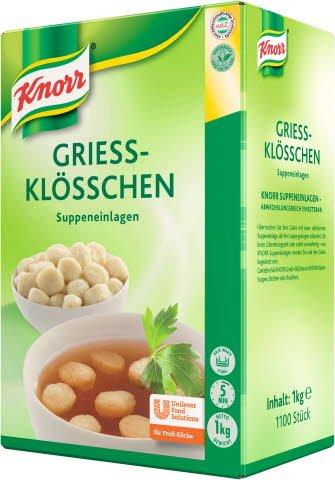 Knorr Griessklösschen 6X1KG BOX EB DE -