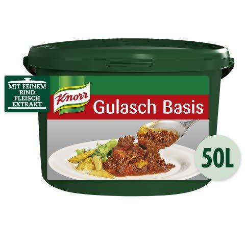 Knorr Gulasch Basis pastös 6 KG
