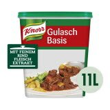 Knorr Gulasch Basis pastös 1,3 KG