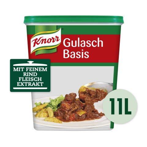 Knorr Gulasch Basis pastös 1,3 KG -