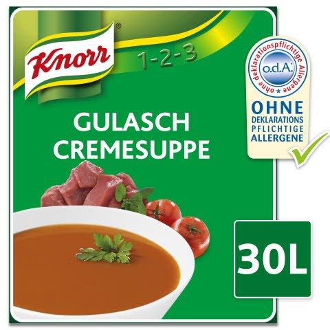 Knorr Gulasch Suppe 2,7 KG