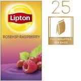 Lipton Hagebutte-Himbeere Früchtetee 25 Beutel