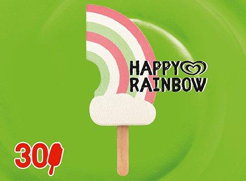 Langnese Happy Rainbow Eis am Stiel 90 ml -