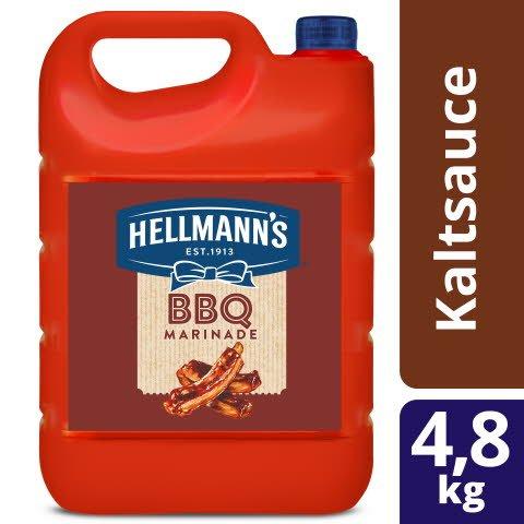 Hellmann's BBQ Marinade 4,8 KG - Hellmann's BBQ Marinade verleiht Ihren Gerichten den perfektensüß-rauchigen Geschmack.