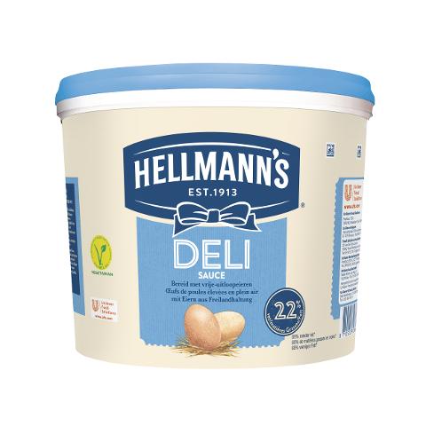 Hellmann's Deli Sauce 5L - Die HELLMANN'S Deli  Sauce ist vielseitig einsetzbar.