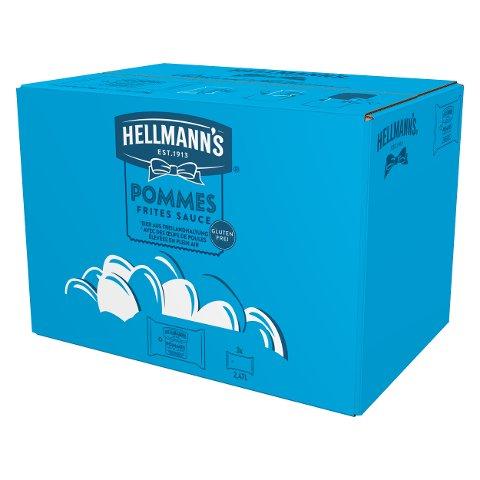 Hellmann's Pommes Frites Sauce für Dispenser 3x2.5kg - Hellmann's Premium Dispenser für eine ansprechende und effiziente Dosierung