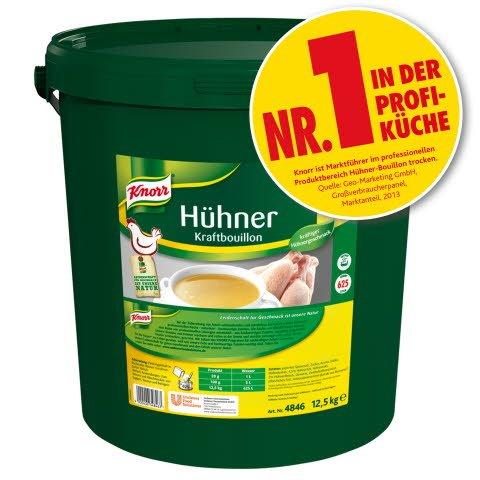 Knorr Hühner Kraftbouillon 12,5 KG