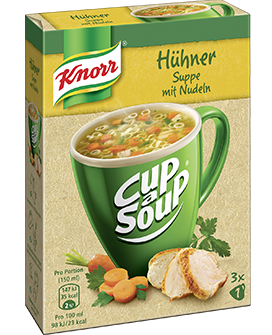 Knorr Cup a Soup Hühner Suppe 450 ml -