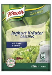 Knorr Joghurt Kräuter Dressing 70 ml