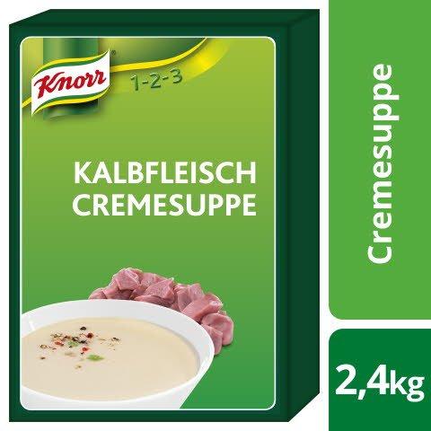 Knorr Kalbfleisch Cremesuppe 2,4 KG