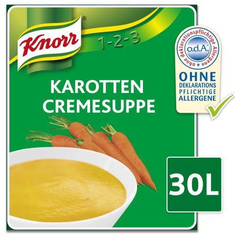 Knorr Karotten Cremesuppe 3 KG