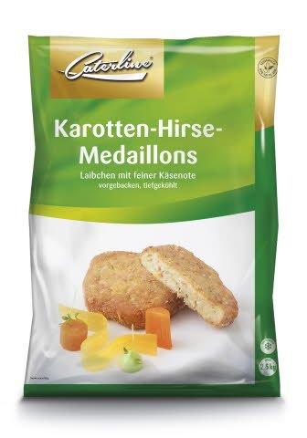 Caterline Karotten-Hirse-Medaillons 2,5 KG (50 Stk. à ca. 50 g)