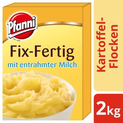 Pfanni Kartoffel- Flocken Fix- Fertig mit entrahmter Milch 2 KG