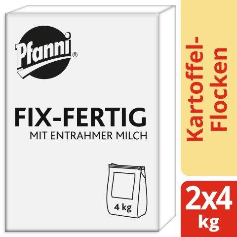 Pfanni Kartoffel- Flocken Fix- Fertig mit entrahmter Milch 8 KG