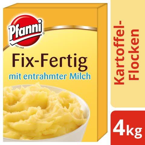 Pfanni Kartoffel- Flocken Fix- Fertig mit entrahmter Milch 4 KG -