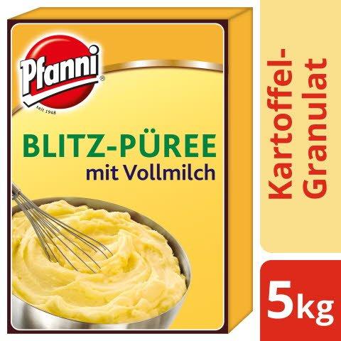 Pfanni Kartoffel- Granulat Blitz- Püree mit Vollmilch 5 KG