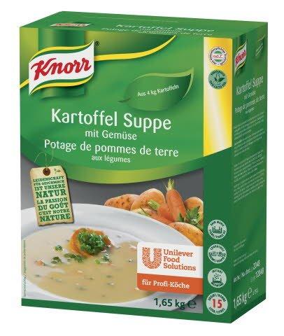 Knorr Kartoffel Suppe mit Gemüse 1,65 KG