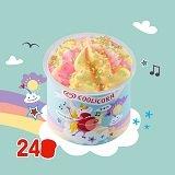Langnese Fertige Eisdesserts Kids-Cup Coolicorn 24 x 100 ml -