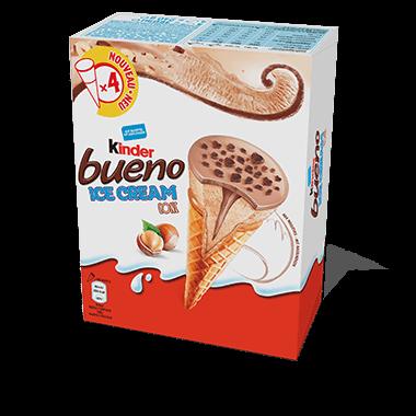 Kinder Bueno Ice Cream Cone Familienpackung Eis 4 x 90 ml -