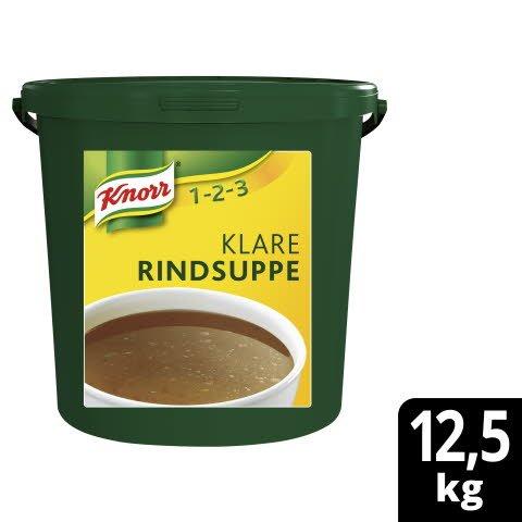 Knorr Klare Fleischsuppe mit Suppengrün 12,5 KG