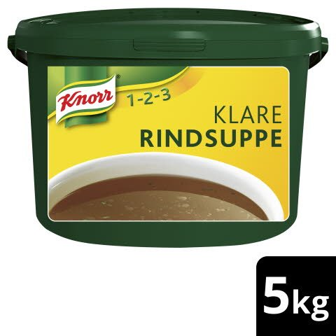Knorr Klare Fleischsuppe mit Suppengrün 5kg -