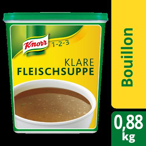 Knorr Klare Fleischsuppe mit Suppengrün 880 g