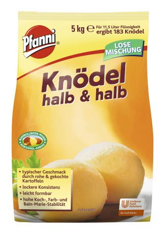 Pfanni Knödel halb & halb 5 KG -