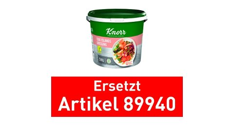 Knorr Dressing 1000 Islands 1x5kg Eimer - Knorr Dressings –vegetarisch und sofort einsetzbar.