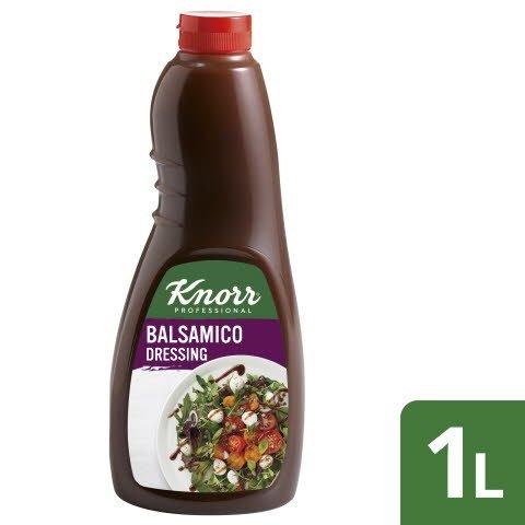 Knorr Dressing Balsamico 6x1L Flasche - Knorr Dressings –vegetarisch und sofort einsetzbar.