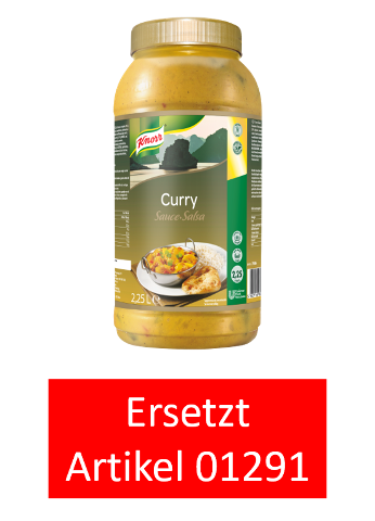 KNORR Curry Sauce  2 x 2,25 L -