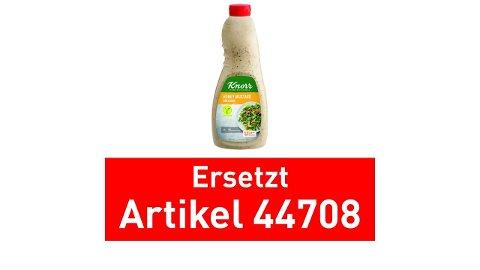 Knorr Dressing Honey Mustard  1 L Flasche - Knorr Dressings –vegetarisch und sofort einsetzbar.
