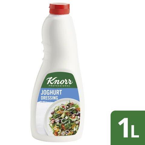 Knorr Dressing Joghurt 6x1L Flasche - Knorr Dressings –vegetarisch und sofort einsetzbar.