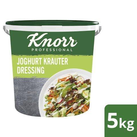 Knorr Dressing Joghurt Kräuter 1x5kg Eimer - Knorr Dressings –vegetarisch und sofort einsetzbar.