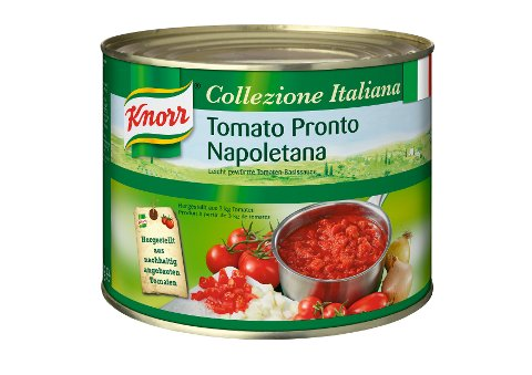 Knorr Tomato Pronto Napoletana Tomatensauce stückig 2 kg -